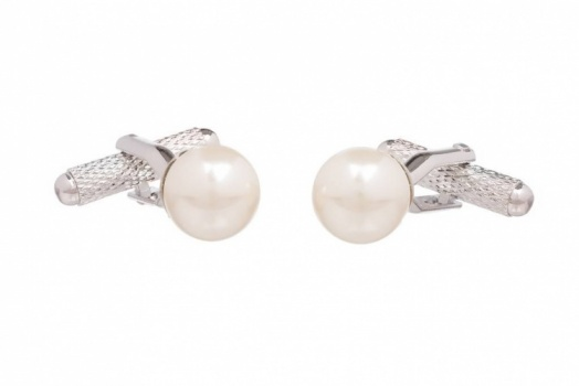 Pearl Drop Effect Cufflinks